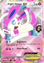 Angel's Sylveon EX by DBurch01