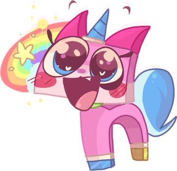 Unikitty - EEE! I LOVVE ITT! by Choco-Floof