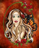 Harmony  Fairy Portrait State of Beings Series by concettasdesigns