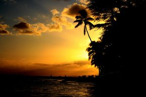 Sunset in Hawaii by ZoharBlur