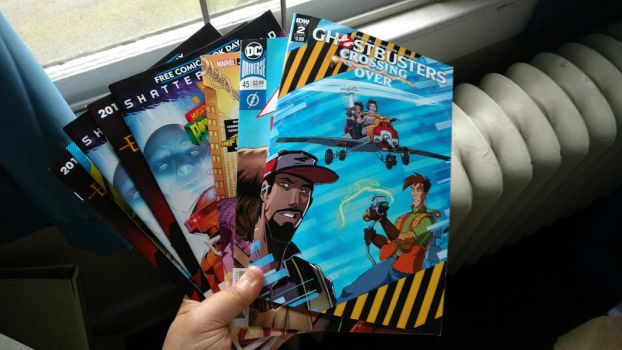 Free Comic Book Day Haul 2 by OtakuDude83