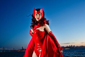 Scarlet Witch: Dusk by OscarC-Photography