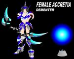 FEMME ACCRETIA DEMENTER by JPL-Animation
