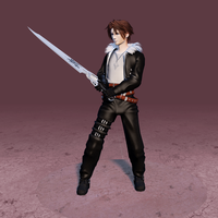 Squall_lowpoly by Shunsquall