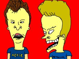 Beavis and Butt-Head by biel12