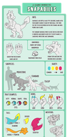 Snapadile Species Guide by ParadiseFever