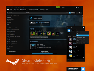 Steam Metro skin BETA 8 - UPDATE by fediaFedia