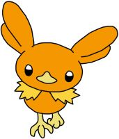 Early/Beta Torchic Design by GEORDINHO
