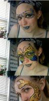 Facepaint Wanderings by Mystitat
