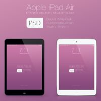 Apple iPad Air Mockup PSD by wellgraphic