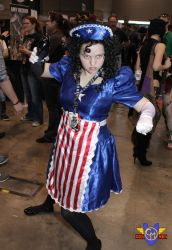 American Maid Cosplay - C2E2 2013 by ConMenWebSeries