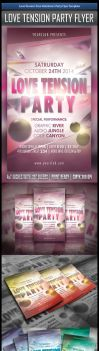 Free Happy Valentine Flyer Template by MGraphicDesign