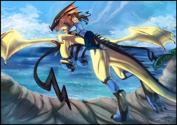 Take the leap by Helixel