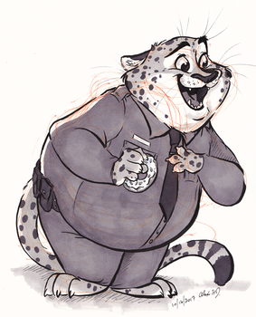 Inktober2017-Fat by Stray-Sketches