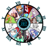 2017 Art Summary Template by Thoughts-and-Bubbles