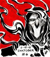 Inktober #6 - 2016 - (Reaper) Undone by Red-Sinistra