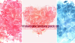 Watercolor texture pack 01 by Borianna