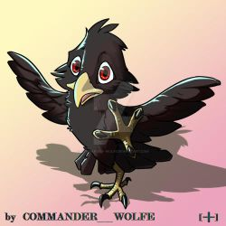 blackbabyeagle by COMMANDER--WOLFE