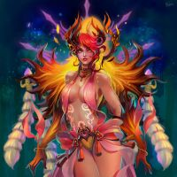 Zhu-Rong by Philiera