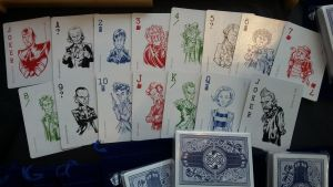 Updated Doctor Who Poker Cards by SouthParkTaoist