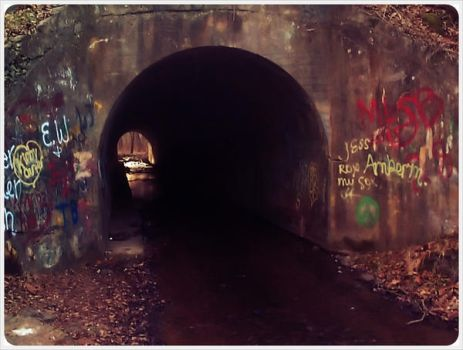 Sensabaugh Tunnel - TN-VA by barefootphotos