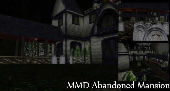 MMD Abandoned Mansion Download by SachiShirakawa
