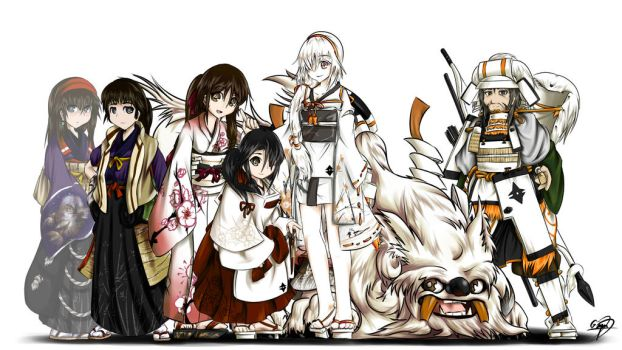 [Original] Hime and Her Family+ [Digital] by GrimmiBear