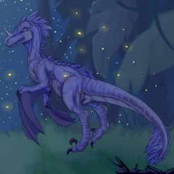 Fantasy Raptor by thetwinsisters
