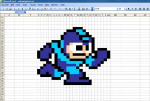 Rockman Excel by RayCrysis