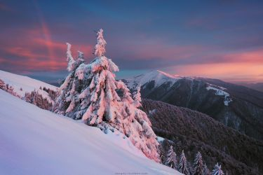 Winter Rainbow by Sergey-Ryzhkov