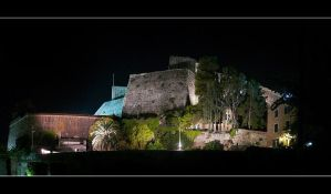 The Fortress Towering Over The Corfu City by skarzynscy
