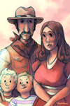 [Mother 3] Family Photo by Amphibizzy