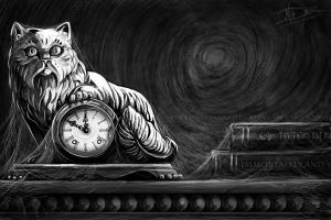 Pewter Cat by maladies