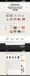 Project W Web Design by vasiligfx