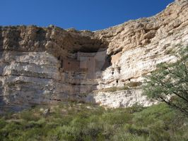 Montezuma's Castle in AZ by JasonYoungdale