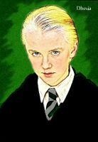 Draco Malfoy Portrait by Dhesia