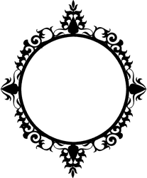 147 circle frame 02 by Tigers-stock