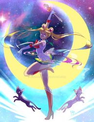 Super Sailor Moon by midnazora