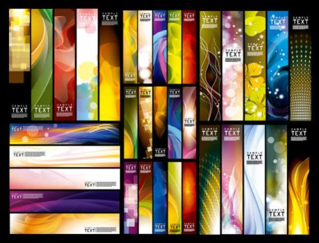 Vector banner background by vectorbackgrounds