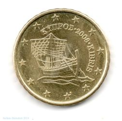 10 euro cents - 2008 - Cyprus by Book-Art