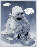 (UT) Flowey is Not a Good Life Coach Ch18 Scene by SimonSoys