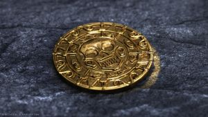 Aztec Gold Coin by Renegade64