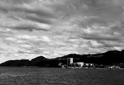 A landscape picture of Sandnes by fedda95