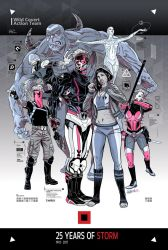 WildStorm 25th Anniversary by PencilInPain