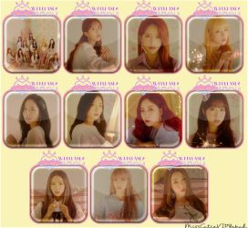 WJSN Cosmic Girls WJ Please Icons by MissCatieVIPBekah