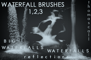 All Waterfall Brushes by thomascall