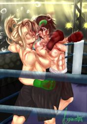 Emily Faul vs. Veronica Eagle Part 4 by Mechassault-Man