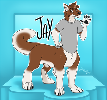 Commission: Jay Conbadge by Lady Rain by wannabemustangjockey