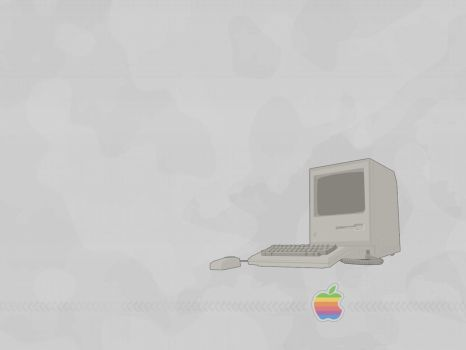 Retro Mac by lennard