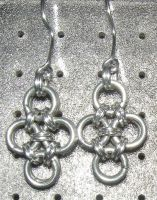 Chainmaille Earring 97 by Des804